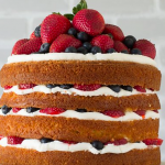 Gâteau Type Naked Cake (sans pate sucre)