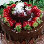Gâteau Sensation au chocolat et fraise