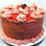 Gâteau Prune Rouge