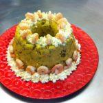 Couscous brésilien à la farine de maïs aux crevettes et legumes