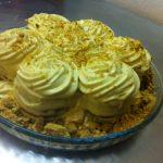 Gâteau à la bolacha Maria et creme à la vanille