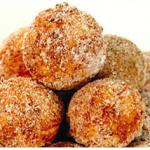 Bolinho de Estudante (Gâteau à la noix de coco, tapioca et cannelle)
