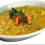 Vatapa (creme au crevettes, noix de cajou, lait de coco, épices)