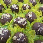 Chocolat fouré à la noix du Brésil