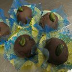 Chocolat fouré au Pistache