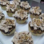 Cupcake Chocolat/ banane/noix