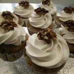 Cupcake, noix, noisette, noix de cajou, noix de coc, sans lactose et sans gluten