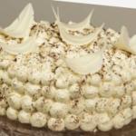 Gâteau Tiramissu (genoise légère, crème au mascarpone et cafe)