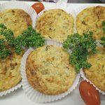Tarte (Sans Gluten) à la courgette bio, thon, épices, fromage de Minas Curado, herbes aromatiques